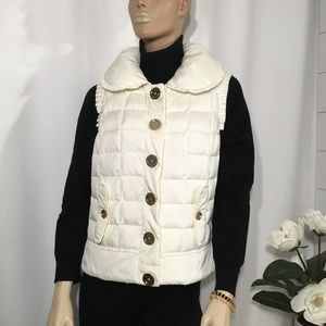 Juicy couture- Quilted down puffer vest (A47